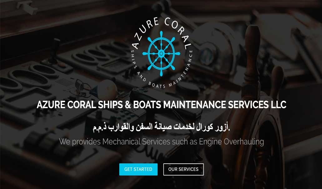 AZURE CORAL Ships & Boats Maintenance Services LLC